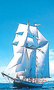 R. Tucker Thompson Tall Sailing Ship