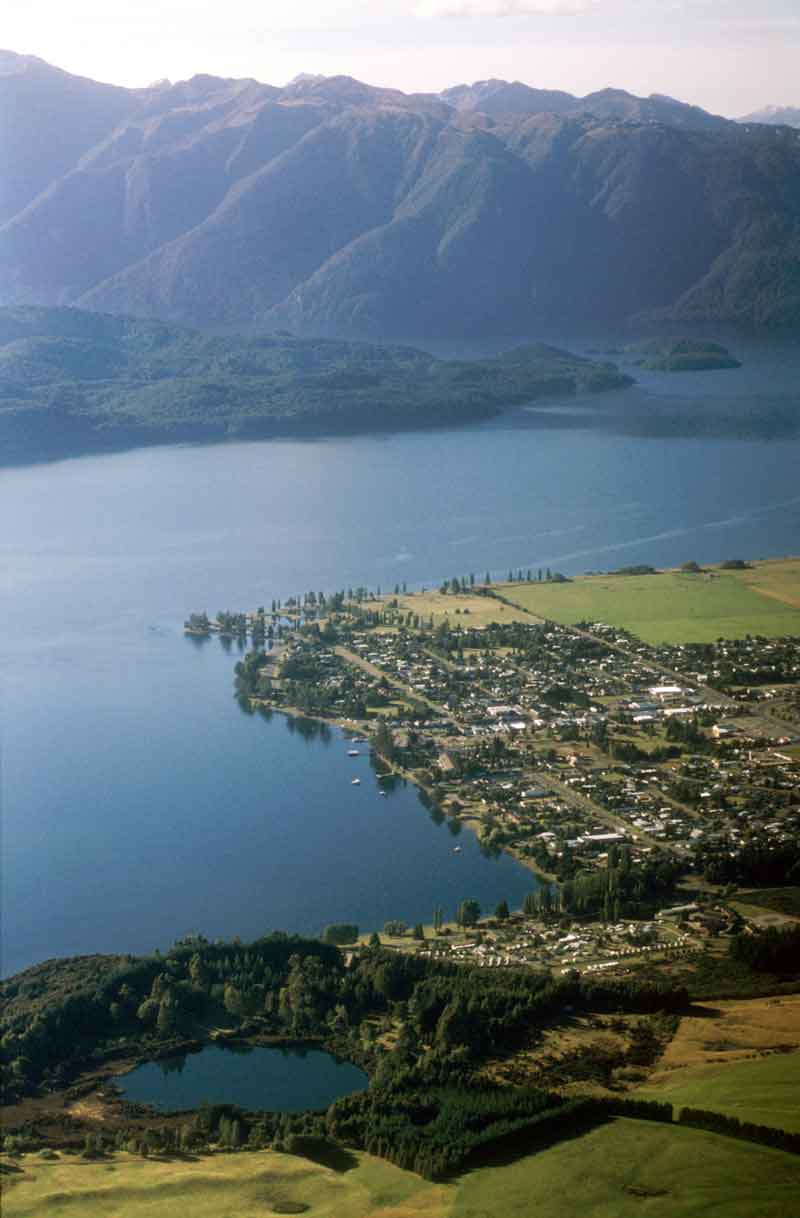 Te Anau Township and Lake Te Anau